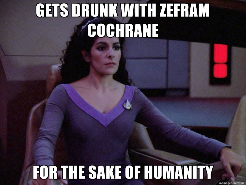 Star Trek First Contact Meme