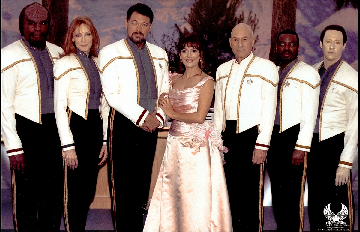 Star Trek: Nemesis Wedding