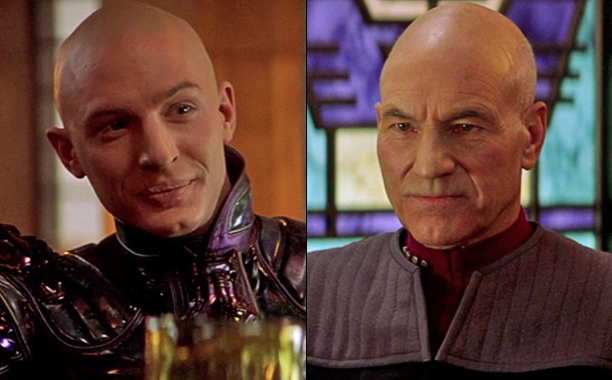 Star Trek: Nemesis picard and shinzon