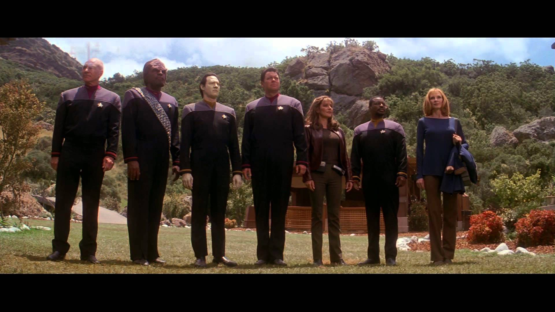 Star Trek: Insurrection cast