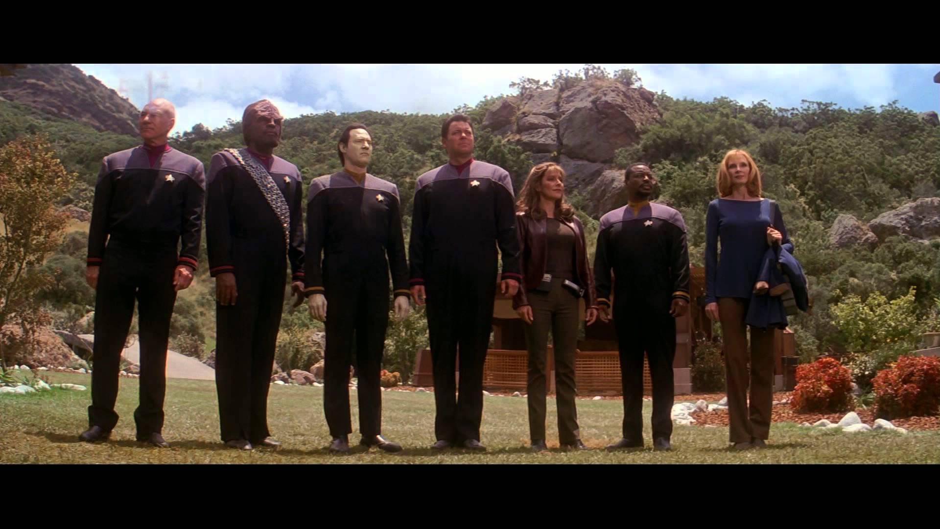 Star Trek: Insurrection cast